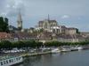Auxerre, vue depuis l'Yonne