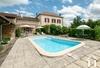 Maison de maître avec un hectare, piscine et magnifique vue Ref # JP5003B
