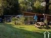 Chalet, 35m², poele à bois, très belles vues, sur 1,7ha. Ref # LC4757