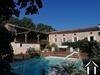 Maison de campagne en pierres avec piscine et joli terrain Ref # MP2114