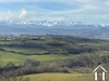 Terrain constructible - Vue Pyrénées Ref # MPP2104-DEGIER