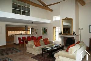 Appartement de luxe avec piscine & jardins