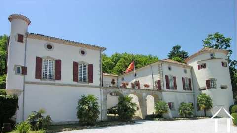 Château restauré dans un endroit privilégié avec des vues Ref # 11-2214