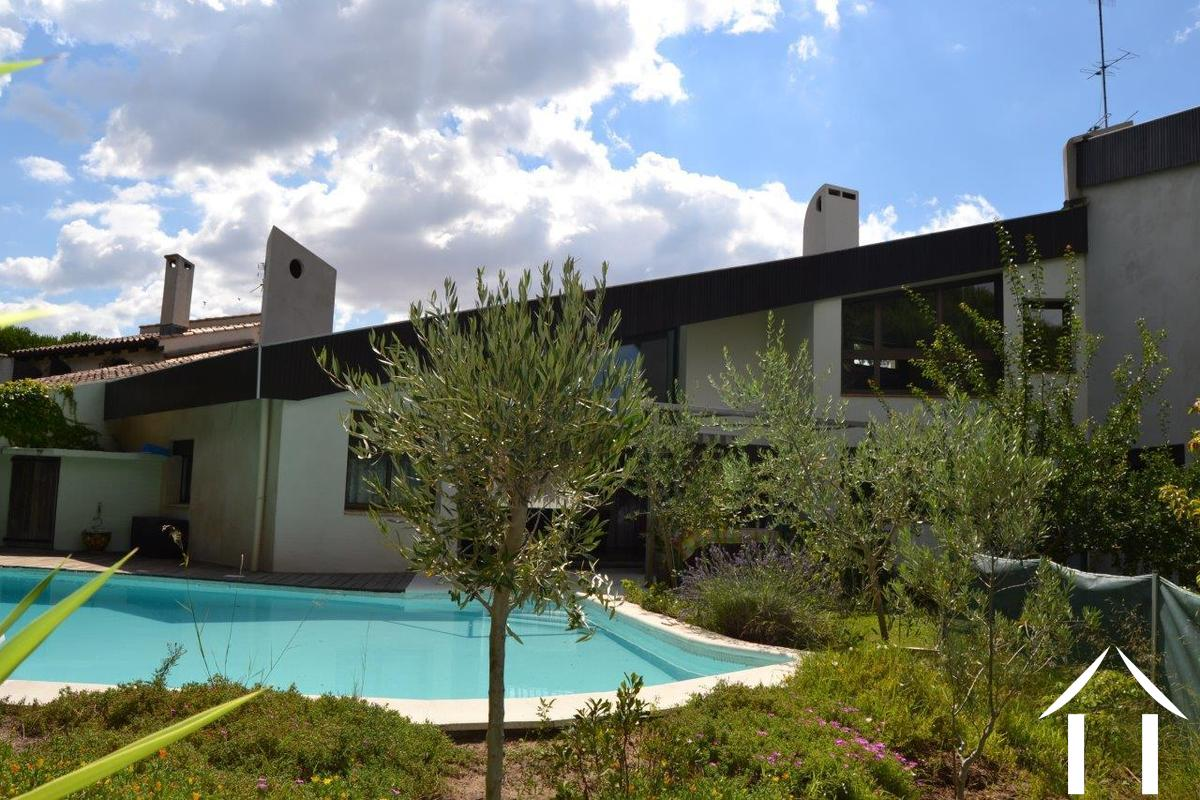 Maison avec gite vendre la grande motte languedoc for Camping la grande motte avec piscine