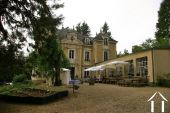 Castle with 14x 5 m orangerie