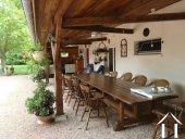 Jolie villa avec B&B et petit camping  Ref # AH4937V image 10 <en>lovely veranda with lots of space for guests</en><nl>lovely veranda with lots of space for guests</nl>