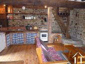 Ancienne ferme avec gite Ref # CR5067BS image 14 Kitchen in guest house