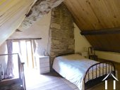 Ancienne ferme avec gite Ref # CR5067BS image 15 Bedroom 3 ( guest house) with ensuite shower
