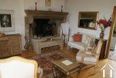 Ferme du 19e siècle avec vue superbe Ref # RT5077P image 4 <en>Burgundian fireplace</en>