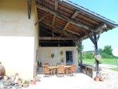 Cuisine d'été et terrasse