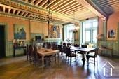 Château XIIIe - XIXe siècle Ref # JP5016S image 9 Grande salle à manger à côté de la cuisine