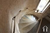 Château XIIIe - XIXe siècle Ref # JP5016S image 11 escalier en pierre menant à la cave