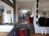 Maison d\'architecte très lumineuse avec piscine et vue Ref # CR5036BS image 8 Vue sur cuisine-entrée-salon