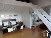 Maison d\'architecte très lumineuse avec piscine et vue Ref # CR5036BS image 7 Chambre en suite+mezzanine