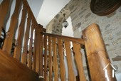 Feature woodenm staircase