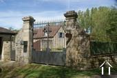 Entrance gate to Cottages