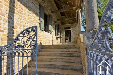 Maison de 3 chambres dans un village au nord de Cluny Ref # JP4964S