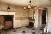 Old kitchen of house