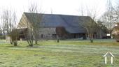 Belle longère rénovée près de Gueugnon Ref # DF4916C image 8 Achterzijde huis