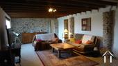 Belle longère rénovée près de Gueugnon Ref # DF4916C image 4 Salon