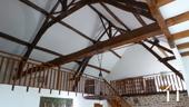 Belle longère rénovée près de Gueugnon Ref # DF4916C image 15 Dak spanten mezzanine
