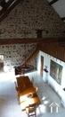 Belle longère rénovée près de Gueugnon Ref # DF4916C image 16 Living vanaf mezzanine