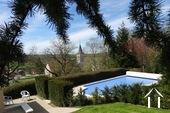 Views across pool & garden
