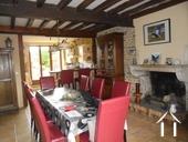 Charmante maison en pierres et joli jardin Ref # RT5088P image 2 séjour avec cheminée