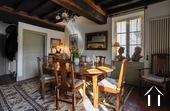 Maison de caractère avec 5 chambres et plusieurs granges Ref # BH5089V image 8 Dining Room