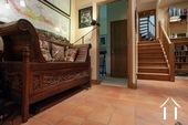 Maison de caractère avec 5 chambres et plusieurs granges Ref # BH5089V image 15 hallway with sitting area deserving the family bedrooms