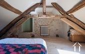 Manoir avec deux gîtes et piscine Ref # BH4953V image 14 master bedroom