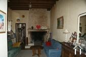 Maison de caractère du 19e & dépendances Ref # RT4997P image 4 Open stone fireplace