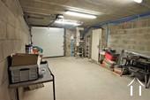garage avec accès direct à la maison
