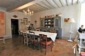 Propriété de caractère de 6 chambres et une grange  Ref # JP4999S image 14 salle à manger menant à la cuisine 1