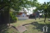 Magnifique vue, maison de 3 chambres Ref # BH5013V image 16 garden with vegetables patch and fruit trees