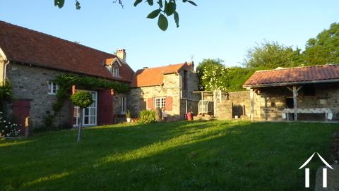 Charmante maison de 3 chambres avec vue et 3 ha Ref # DF5019C