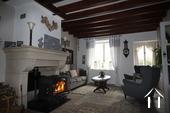 Maison en pierre rénovée près de Premery Ref # LB5070N image 3 salon
