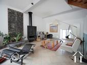 Charmante maison du XIXe et grange aménagée avec vue Ref # RT5076P image 2 Magnifique salon