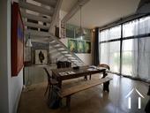 Charmante maison du XIXe et grange aménagée avec vue Ref # RT5076P image 6 Atelier d'artiste