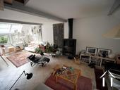 Charmante maison du XIXe et grange aménagée avec vue Ref # RT5076P image 15 salon 1er étage