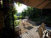 Charmante maison du XIXe et grange aménagée avec vue Ref # RT5076P image 24 Terrasse principale