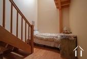 Maison de caractère avec 5 chambres et plusieurs granges Ref # BH5089V image 12 bedroom 4 with stairs to mezzanine