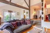 Maison d\'architecte très lumineuse avec piscine et vue Ref # CR5036BS image 7 Living