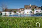 Grande maison familiale avec piscine et gîtes Ref # BH5084M image 35 on the right main house, on the left 2 guest units
