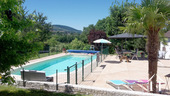 Grande maison familiale avec piscine et gîtes Ref # BH5084M image 2 heated pool, fenced for safety, south facing