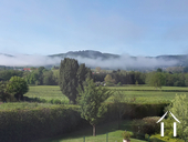 Grande maison familiale avec piscine et gîtes Ref # BH5084M image 5 great views from garden, in view of Autun Cathedral