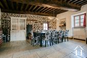 Grande maison familiale avec piscine et gîtes Ref # BH5084M image 12 dining area in large salon