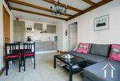 Grande maison familiale avec piscine et gîtes Ref # BH5084M image 22 living/kitchen of apartment 1