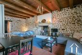 Grande maison familiale avec piscine et gîtes Ref # BH5084M image 26 Cosy large studio with character features