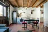 Grande maison familiale avec piscine et gîtes Ref # BH5084M image 28 Kitchen area in studio